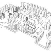 3D схема расстановки оборудования вид2