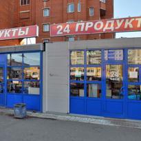 Магазин - павильон на Богатырском проспекте