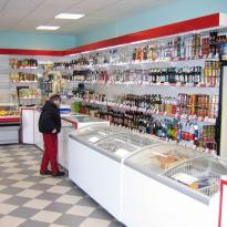 Магазин продукты в поселке Разбегаево